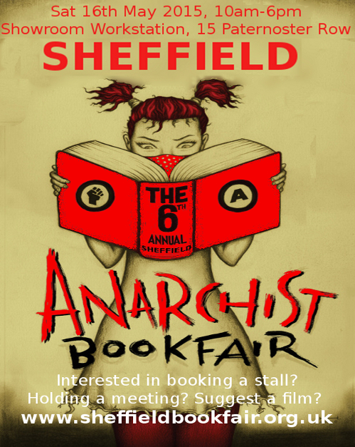 6th Annual Sheffield Anarchist Bookfair