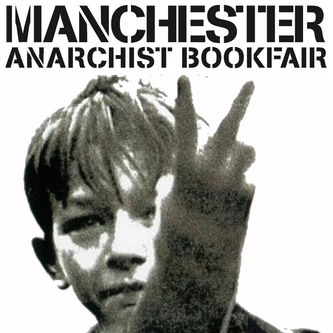 Manchester Anarchist Bookfair symbol